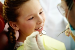 dental exam girl Lonestar dental